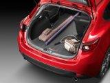 【USマツダ・直輸入純正品】 Mazda3 ハッチバック (日本名:AXELA アクセラ) ソフトカーゴライナー(ラゲッジマット・カーゴトレイ カーゴトレー・トランクマット)